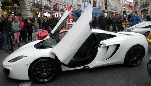 Gull Wing Doors Vintage Car Show Regent Street London 3rd November 2012 1652.25pm & Winged Doors u0026 Tesla Model X P90D Falcon Wing Door pezcame.com