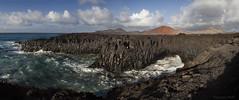 Los Hervideros (Zsuzsa Por) Tags: espaa island spain lanzarote paisaje canarias atlanticocean islascanarias supershot canonistas sacrednature canoneos7d blinkagain