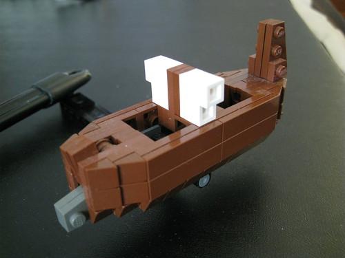 The Wrath of Poseidon (Closeup of Boat)