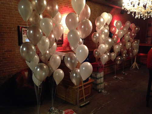 Gronddecoratie 10ballonnen Eethiek Rotterdam