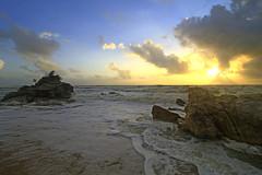 IMG_0228 ~ mentari muncul lagi (achem74) Tags: trip travel sunrise canon eos seascapes wideangle places malaysia kijal terengganu cloudscapes kemaman canonlens kemasek canoneos700d eos700d 10mm18mm