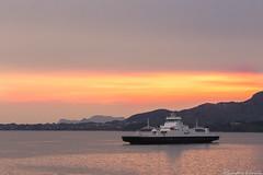 Norangsfjord (sindre97) Tags: sunset sea sun mountain norway set ferry boat norge ship fjord skip bt fjell ferge sj 2016 mrf storfjorden fjord1 norangsfjord fjord1mrf