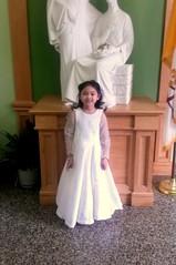 first communion (reginamarieespino) Tags: long dress princess first communion beaded seams