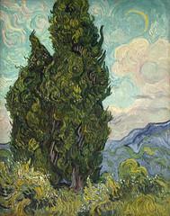 Vincent van Gogh, Zypressen - Cypresses (HEN-Magonza) Tags: cypresses vincentvangogh zypressen metropolitanmuseumofartnewyork