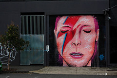 Fitzroy/Collingwood 16-05-16 (Divided Creative) Tags: street urban streetart david art face outdoors graffiti bowie mural paint collingwood fitzroy australia melbourne victoria davidbowie