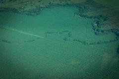 Overhead view, Costa Rica (_Geoff R Baker) Tags: travel plane volcano costarica sony flight 206 sanjose places banana crop plantation duster eco cessna tortuguero irazu barva sel1855 nex7