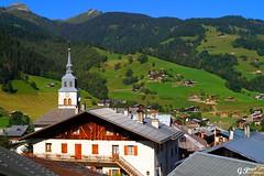 ARCHES-BEAUFORT, LE VILLAGE (Gilles Poyet photographies) Tags: france montagne village alpage archesbeaufort lebeaufortain auvergnerhnealpes