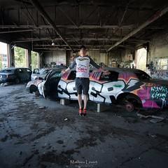 Per Levitas de anima : rock star (Vernamm2) Tags: street art car square starwars nikon montral montreal garage levitation 11 limo explore forgotten qubec limousines graffitis urbex 2016 streetarts lvitation explored