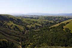 green rolling hills of california (Lucie Maru) Tags: california mountains train spring hiking peak hike peaks tress rollinghills mountdiablo mountainpeak