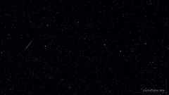 Passage d'un satellite  ct de la Grande Ourse (christian.rey) Tags: sky stars satellite sony ciel flare astronomy nuit 77 nigth toiles astronomie alpa 1650 grandeours grandeourse