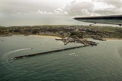 Braye in Alderney (neilalderney123) Tags: airplane landscape island aeroplane alderney trislander 2016neilhoward