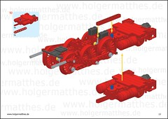 LEGO BR 10 steam engine  instructions (holgermatthes) Tags: train power lego eisenbahn instructions function bauanleitung br10