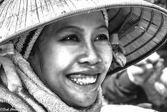 20140221NFX_1652 (youngman242) Tags: bw woman monochrome smile teeth vietnam vn gialai nonla