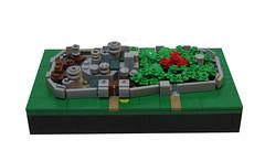 Winterfell (Grantmasters) Tags: castle lego micro got winterfell
