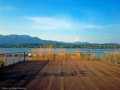 Terrace (anbri22) Tags: lake pier terrace varese pontile anbri