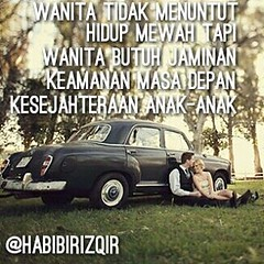 Wanita tidak #menuntut #hidup #mewah tapi... (Habibi Rizqi Ramadhan) Tags: anak wanita hidup mewah keamanan menuntut kesejahteraan jaminan uploaded:by=flickstagram habibirizqir instagram:photo=12601107395756751701247331029