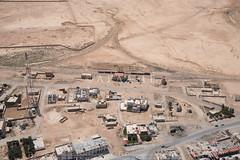 Qatrana Railway Station (APAAME) Tags: archaeology ancienthistory middleeast airphoto aerialphotography aerialarchaeology jadis2407065 megaj12743،محطةالقطرانة mahattatelqatrana