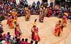 Nepal-Mustang-Lo Manthang- buddhist Tiji festival (venturidonatella) Tags: asia nepal mustang tiji tijifestival persone people portraits colori colors buddhism buddha monks monaci nikond300 d300 hats danza cham lomanthang