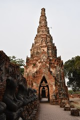 _DSC0350 (lnewman333) Tags: sea river thailand temple seasia southeastasia buddhist unescoworldheritagesite ayuthaya ayutthaya chaophrayariver 1460 watchaiwatthanaram kingprasatthong