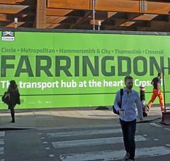 'Transport Hub Farringdon' (EZTD) Tags: lin londonimagenetwork eztd eztdphotography london londra londres england capitalcity photos foto photograph photography eztdgroup linphotos londonist londonengland mylondon thisislondon londonista londonistas imagesoflondon pictoriallondon londonmylondon cityoflondon eztdphotos 2016 fotos londinium photosdelondres londonimages nikond90 june2016 eztdfotos inglaterra angleterre ingles image allabouttheimage crossrail farringdon longlane elizabethline
