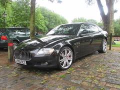 Maserati Quattroporte V L900DCS (Andrew 2.8i) Tags: bristol breakfast meet queen queens square avenue drivers club gt maserati quattroporte v m139 m 139 executive saloon italian