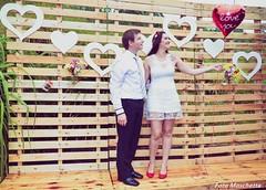 For ever (Mh :)) Tags: corao heart love amor casal noivos casamento decorao decoraocompallets