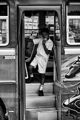 ice cream on a bus [Explored 06/24/2016] (Claudia Merighi) Tags: street boy people blackandwhite bw bus blancoynegro monochrome kid student eyecontact noiretblanc streetphotography monochromatic bn icecream srilanka biancoenero k3 blackandwhitephotos monocromatico streetphotographers blackwhitephotos fotografiacallejera pentaxian blackandwhiteonly fotografiadistrada pentaxk3 ricohimages lamerighi claudiamerighi bleksvart