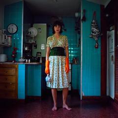 Fran (patofoto) Tags: woman color 6x6 film square kodak squareformat sl66 femenine rolleiflexsl66e