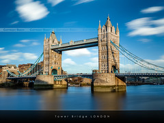 Tower Bridge, London / EXPLORED #2 / (Beboy_photographies) Tags: bridge london tower pose londres pont longue photographies poselongue beboy