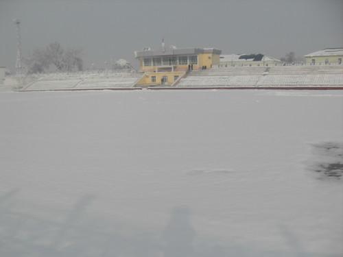 Последствия снегопада в Курган-тюбе (2)
