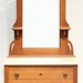 134. Victorian Marble Top Dresser with Mirror