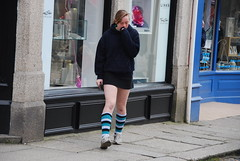 Truro - Local Lass (Le Monde1) Tags: county city school sexy girl socks football nikon cornwall cathedral legs seat young mini skirt lass teen short micro teenager hotbabe knees bishops truro miniskirt hotlegs cathedra d60 grazed microskirt lemonde1