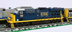 CSX ES44AC