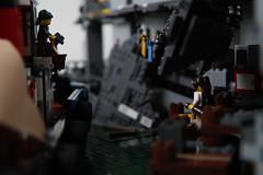 Soy Park 06 (cjedwards47) Tags: boat post lego garage parking apocalypse tugboat tug apocalyptic moc