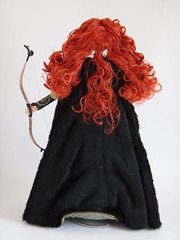 LE Merida 18'' Doll - Deboxing - Freed from Diorama - Full Rear View (drj1828) Tags: store inch doll disney merida 18 limited edition deboxing