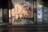 Peach (lepublicnme) Tags: streetart paris france june graffiti peach shutter pal skub 2012 skube skubb skubbe palcrew