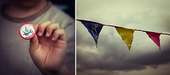 Festival Time (Fuji and I) Tags: festivals flags recycle greed reuse alexarnaoudov