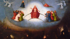 Hieronymus Bosch, The Last Judgement. Central Panel with Detail of Heaven