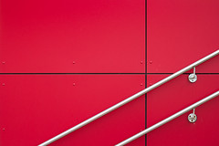 (*m22) Tags: red abstract lines architecture dresden geometry explore simplicity minimalism