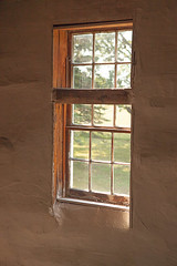 Haugh Log Church - Window above Pulpit (bo mackison) Tags: windows wisconsin balcony historicchurch nationalregisterofhistoricplaces driftlessregion canon5dmarkii haugelogchurch originalpews daleysville southewesternwisconsin