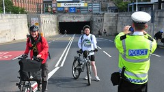 Claire House Bike Ride-Liverpool to Chester (sab89) Tags: charity house bike liverpool cycling ride police tunnel hospice chester event childrens clair mersey wirral