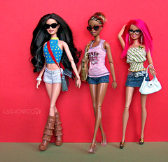 Who's Business? (fashionisto2k) Tags: fashion dolls mattel fever fashionistas f2k