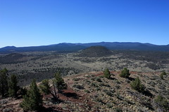 Medicine Lake Volcano from Schonchin Butte, La...