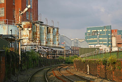 Littons Mill 1 (LowdhamGPR) Tags: warrington box signals signal semaphore lnwr absoluteblock littonsmill r