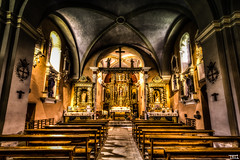 Seeking the Heavenly Light (Teo Morabito) Tags: light church heavenly d800 14mm contamines