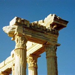 Temple of Apollo (Side Turkey 1995) 2 (Carl Campbell) Tags: turkey temple side ruin
