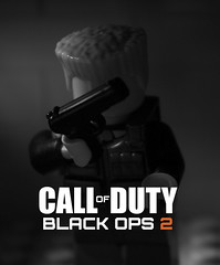 LEGO COD Black Ops 2 Experiment (Sir Glub) Tags: from 2 two man black brick by soldier blog fight cool nice war call gun lego brothers or awesome duty br
