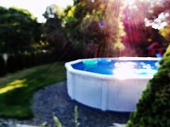 pool sun rays (sundaescoop 8)) Tags: light summer sun pool rays