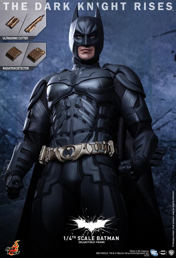 Hot Toys - QS001 - 黑暗騎士:黎明升起 / 1/4比例 蝙蝠俠