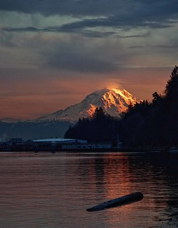 ... Mt. Rainier, Washington State...